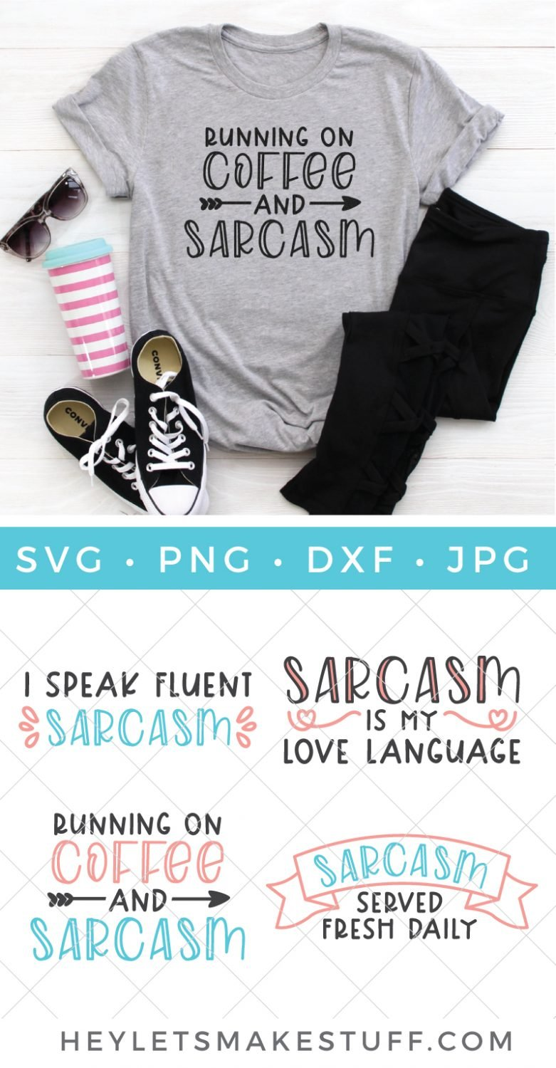 If sarcasm is the way to your heart, then grab this sarcastic SVG file bundle to wear your sense of humor like a badge of honor. A snarky badge, that is!