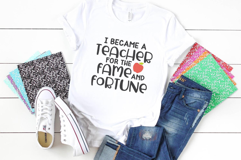 teacher SVG mockup