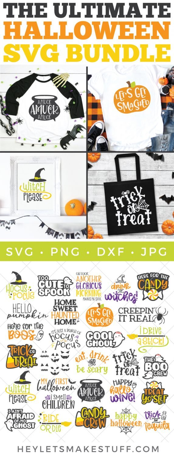 The Big Halloween Svg Bundle 29 Svgs From Hey Let S Make Stuff