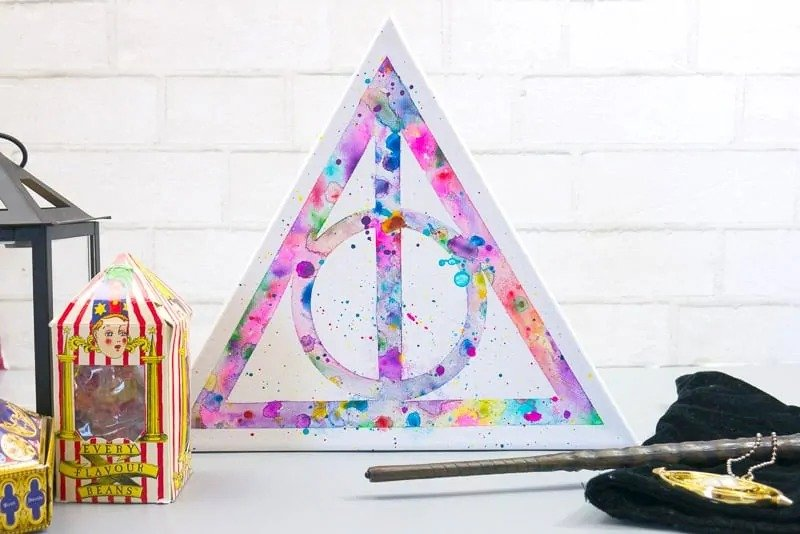 Harry Potter watercolor art