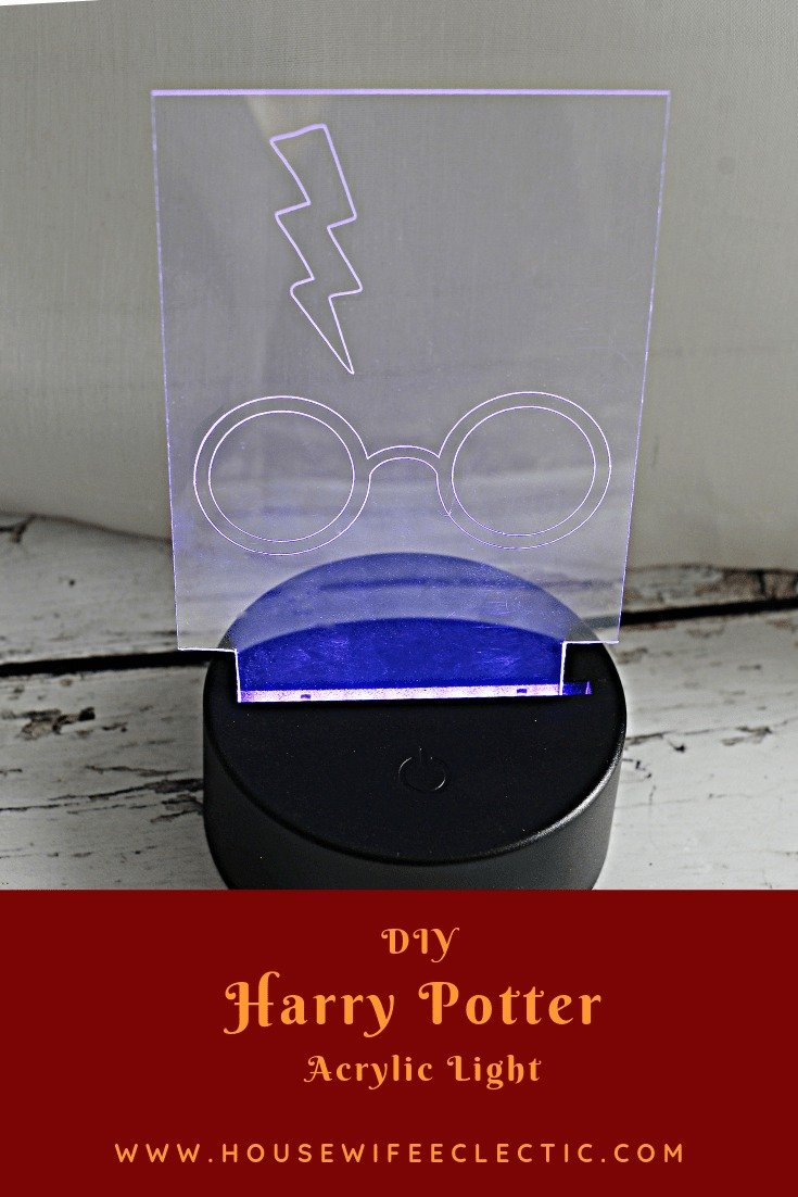 Harry Potter acrylic night light