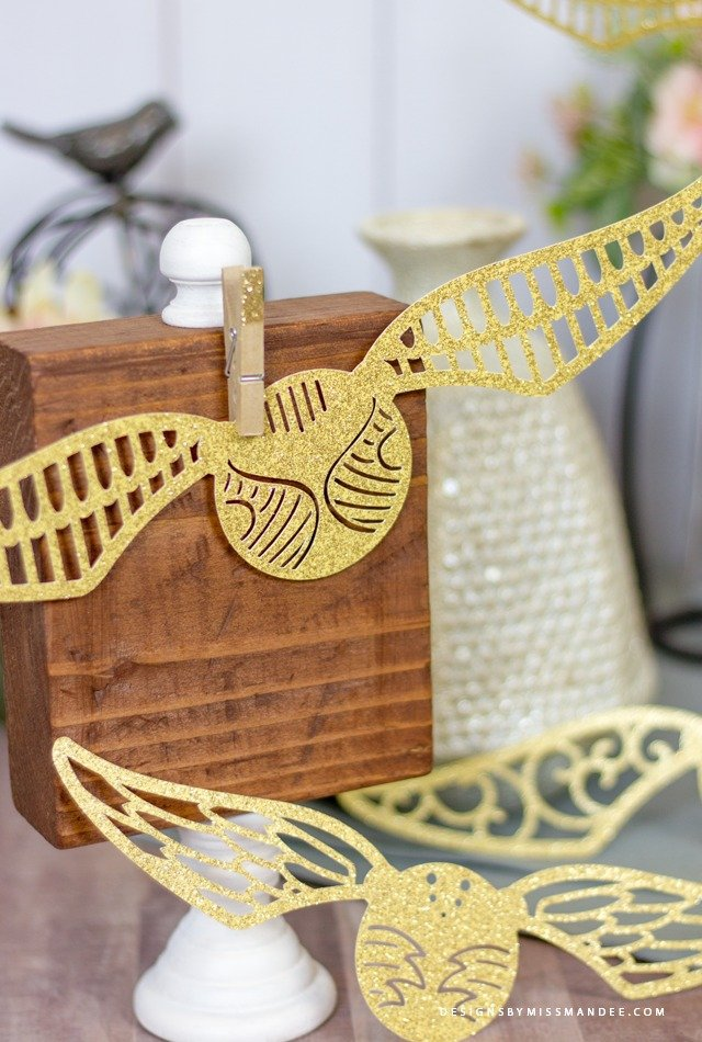 golden snitch die cut