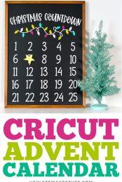 Christmas Advent Calendar Pin Image