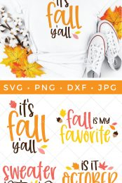 Fall cut files bundle and shirt