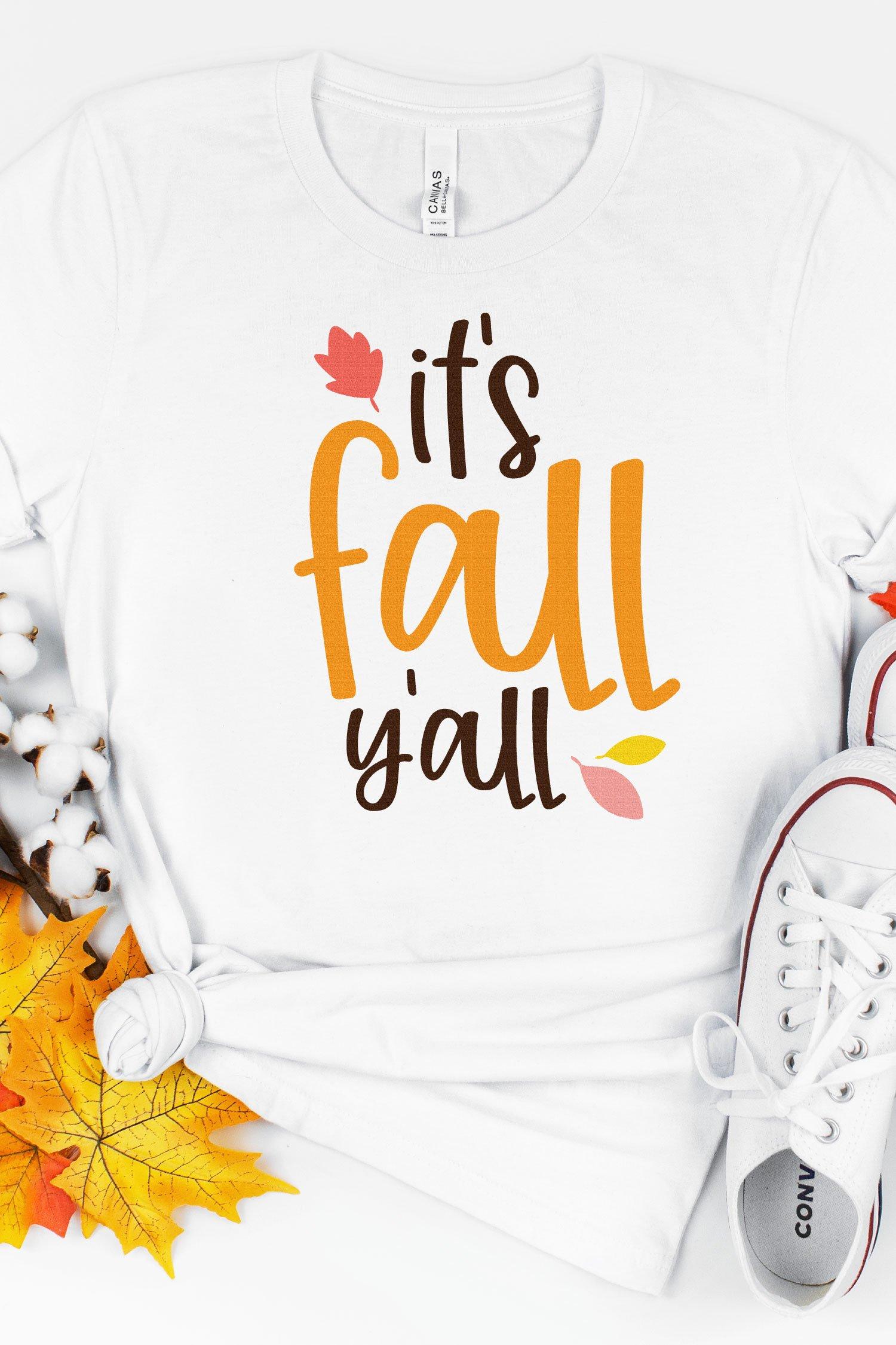 Fall cut files mockup