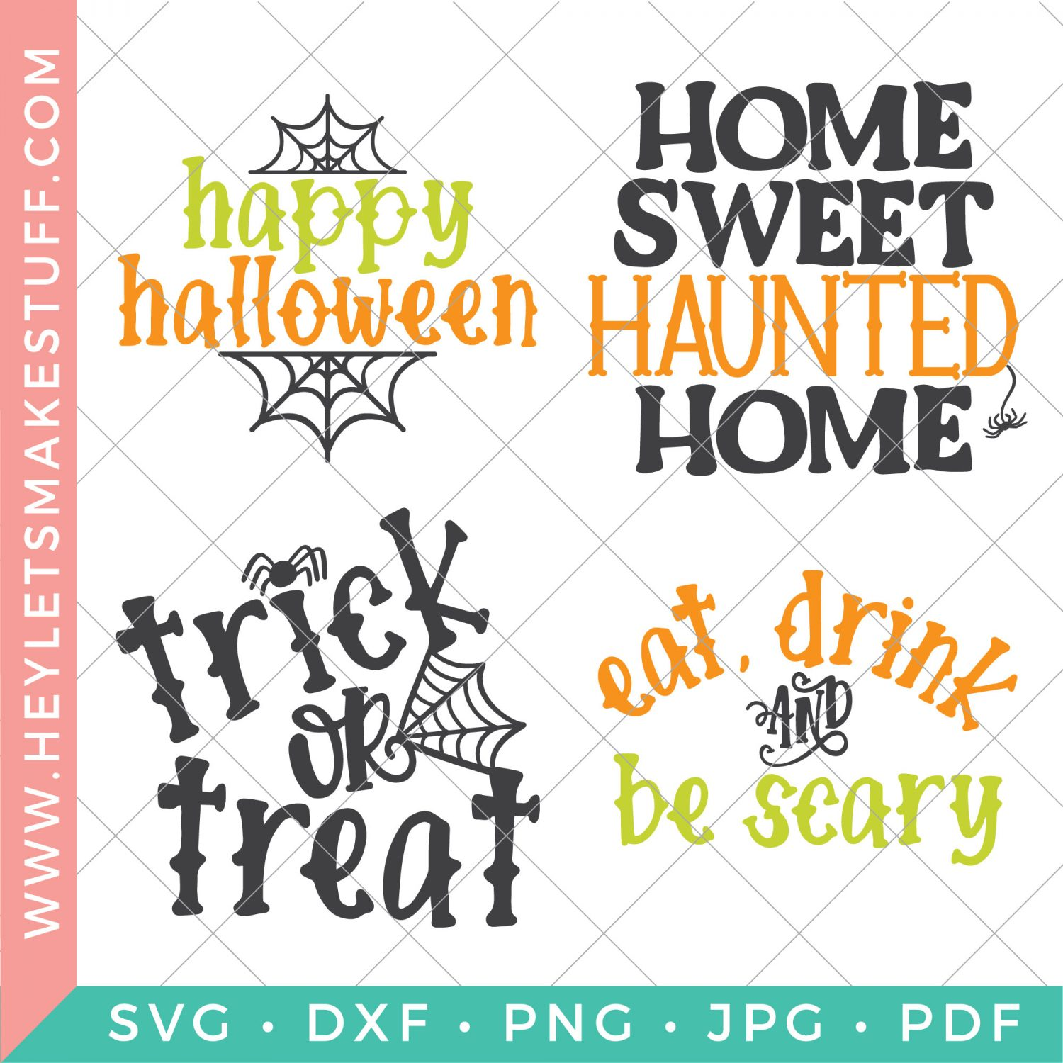 Halloween cut files bundle