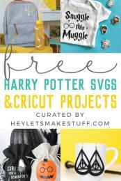 Harry Potter SVG pin image