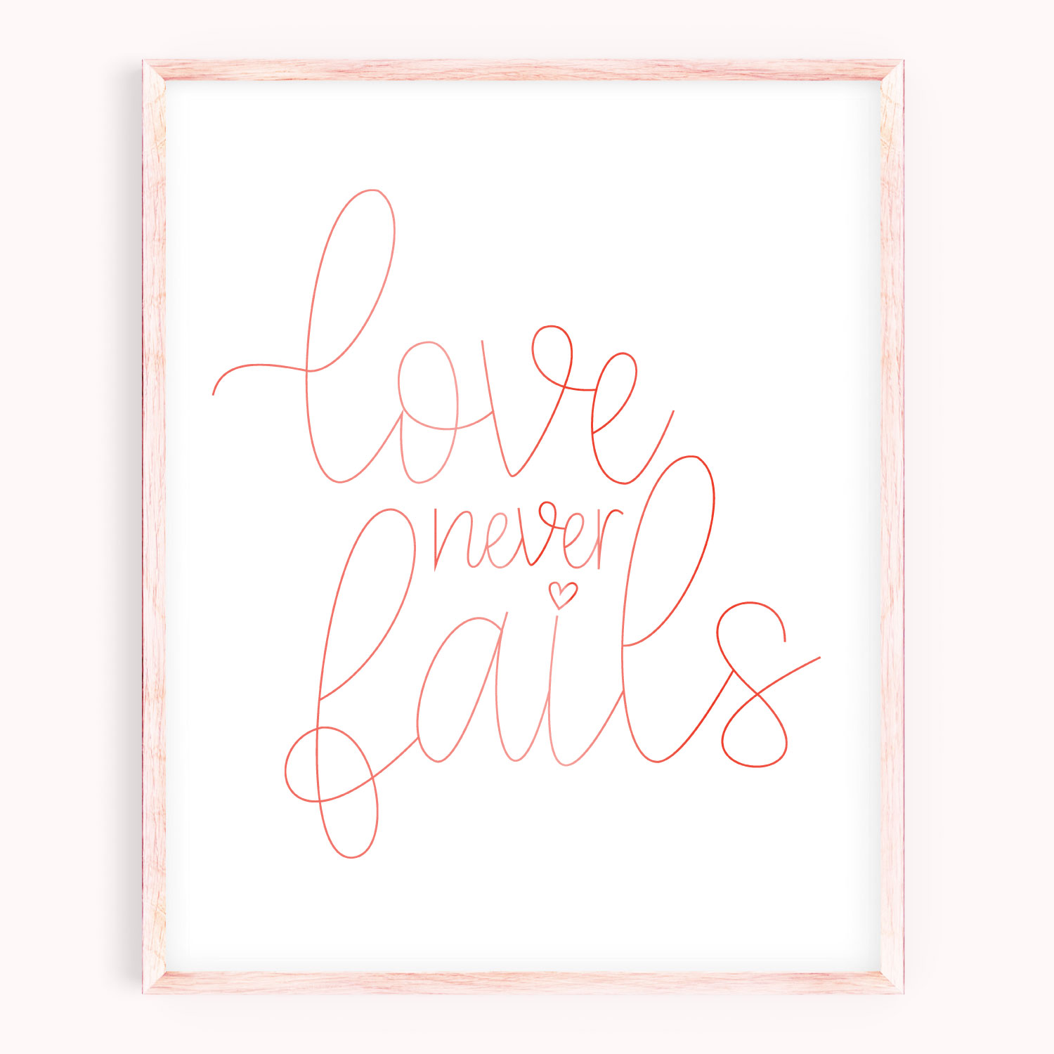 Love Never Fails Svg For Drawing Foiling And Engraving
