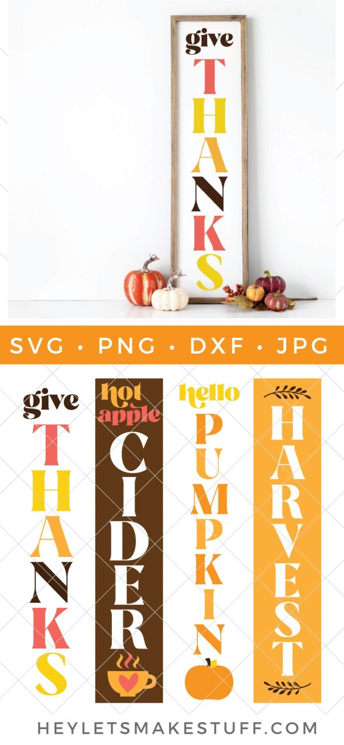 Festive Svg Files To Make A Diy Fall Porch Sign Hey Let S Make Stuff