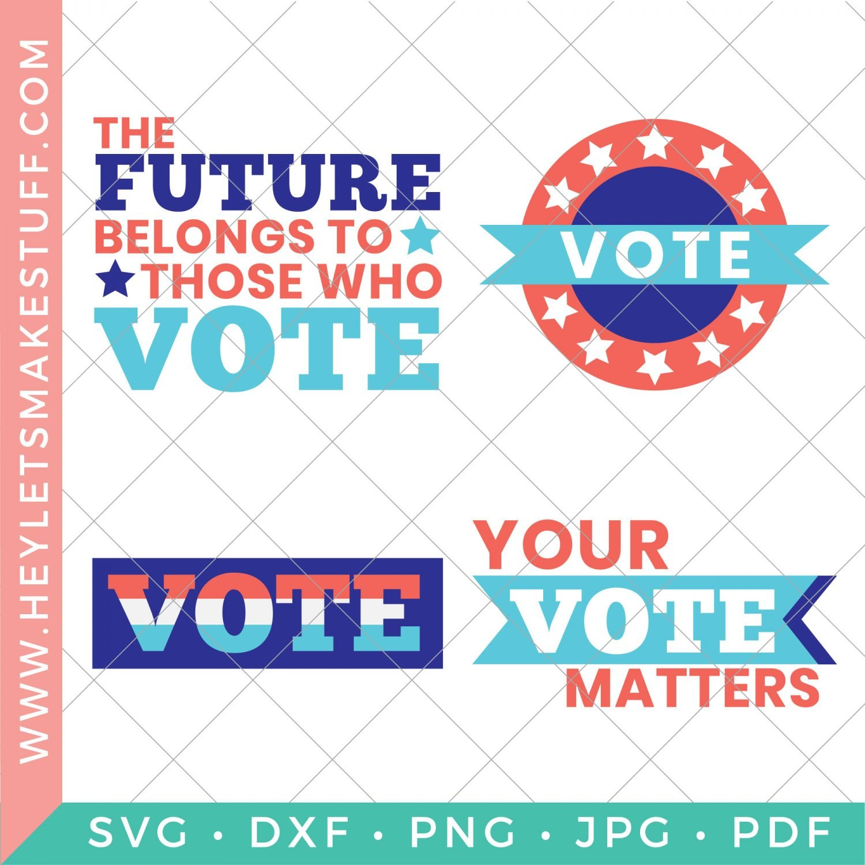 voting SVG bundle