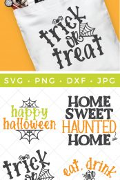 Halloween SVG files pin image