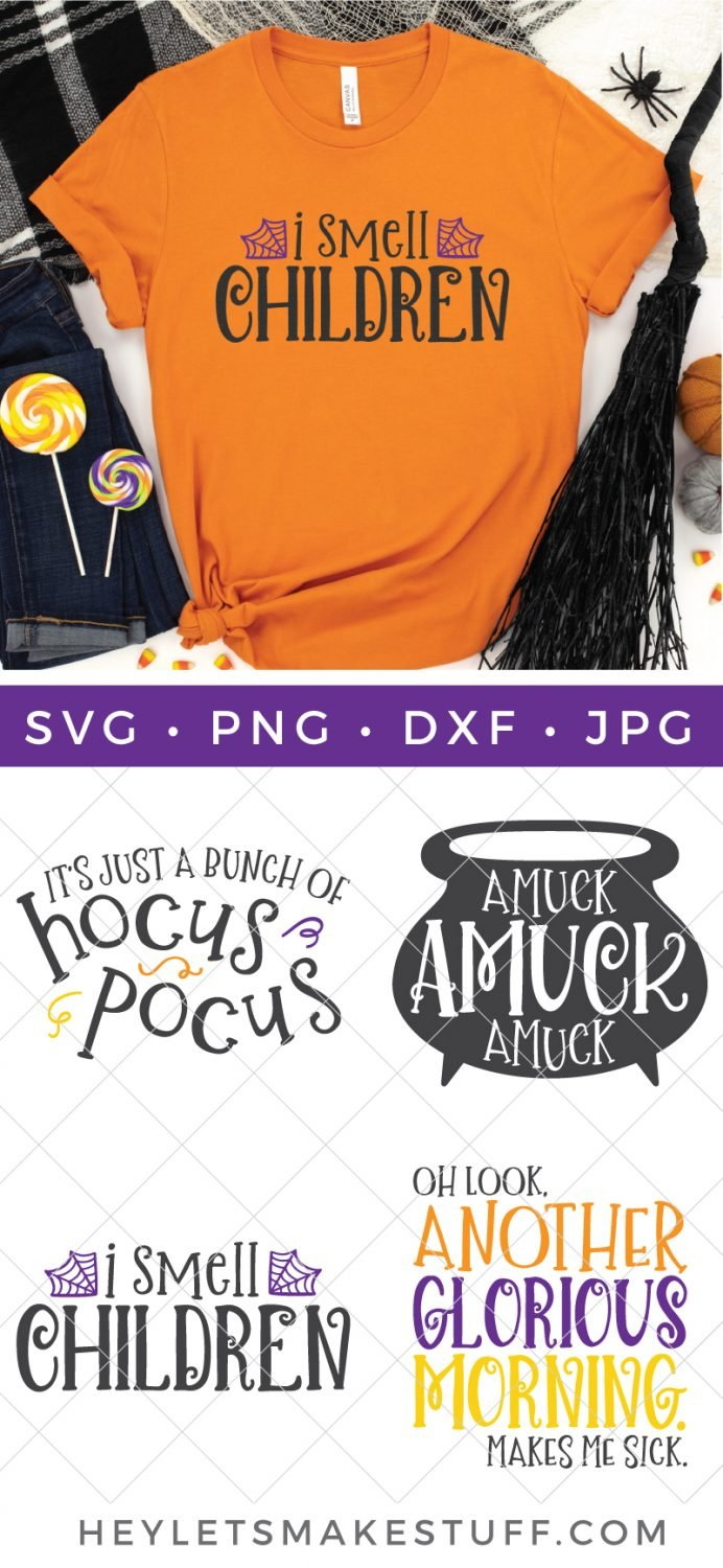 Hocus Pocus SVG files