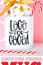 Loco for Cocoa mug pin image