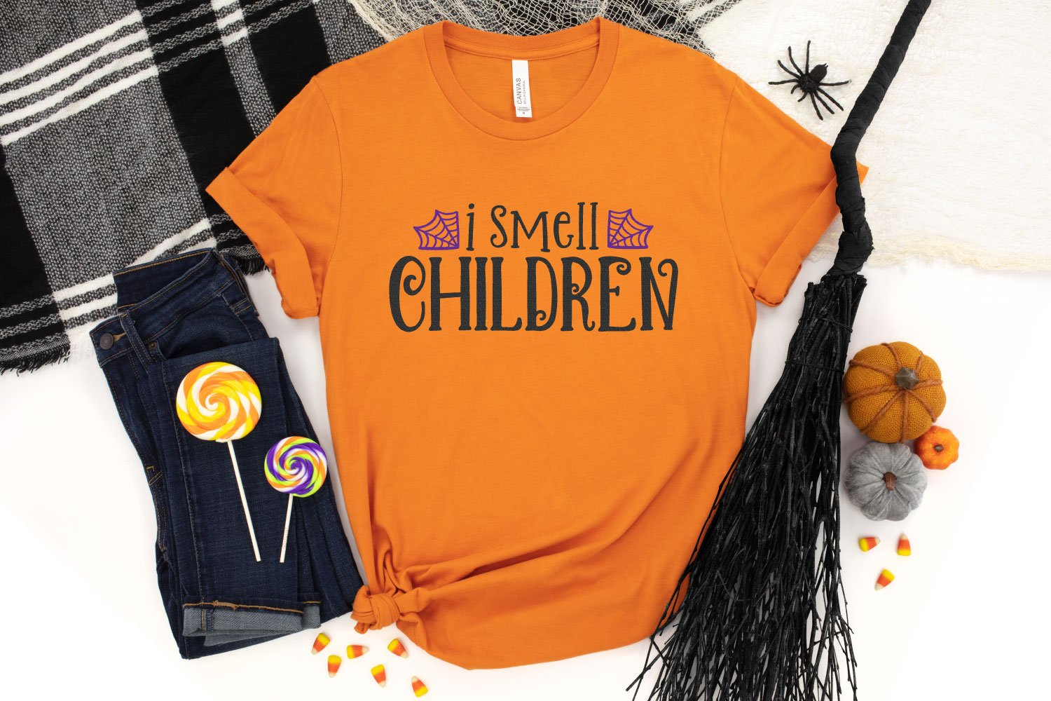 Hocus Pocus SVG on shirt