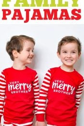 Matching Christmas Pajamas pin image