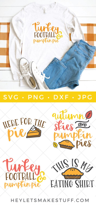 pumpkin pie SVG bundle pin image