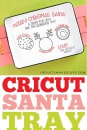 Cricut Santa Tray pin image