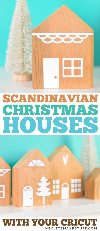 DIY Christmas Village pin image