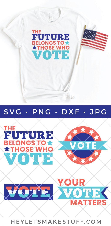 Voting SVG Bundle Pin Image