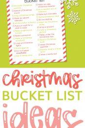 christmas bucket list pin