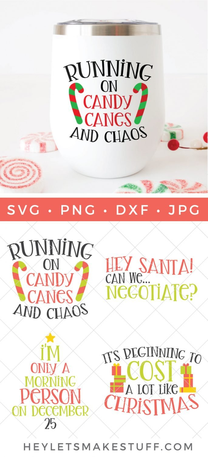 Four Funny Christmas Svg Files Hey Let S Make Stuff