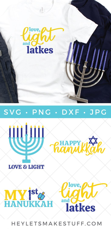 Hanukkah SVG files