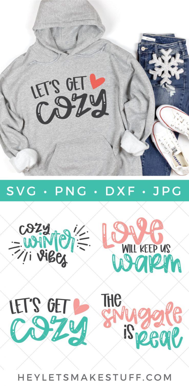 Cozy SVG Bundle pin image