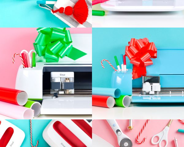 Collage of Cricut gifts