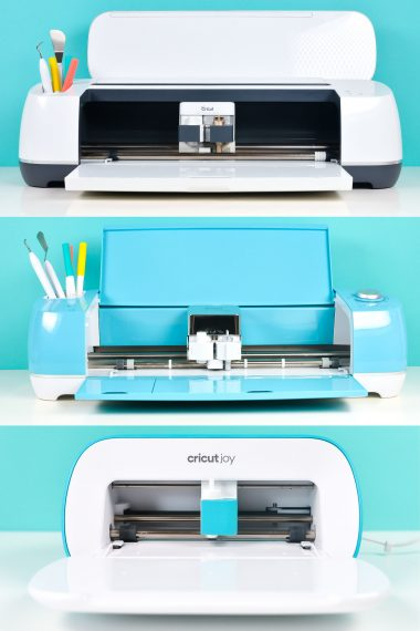 Three Cricut Machines