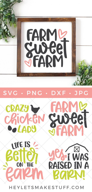 Farm SVG Bundle pin image