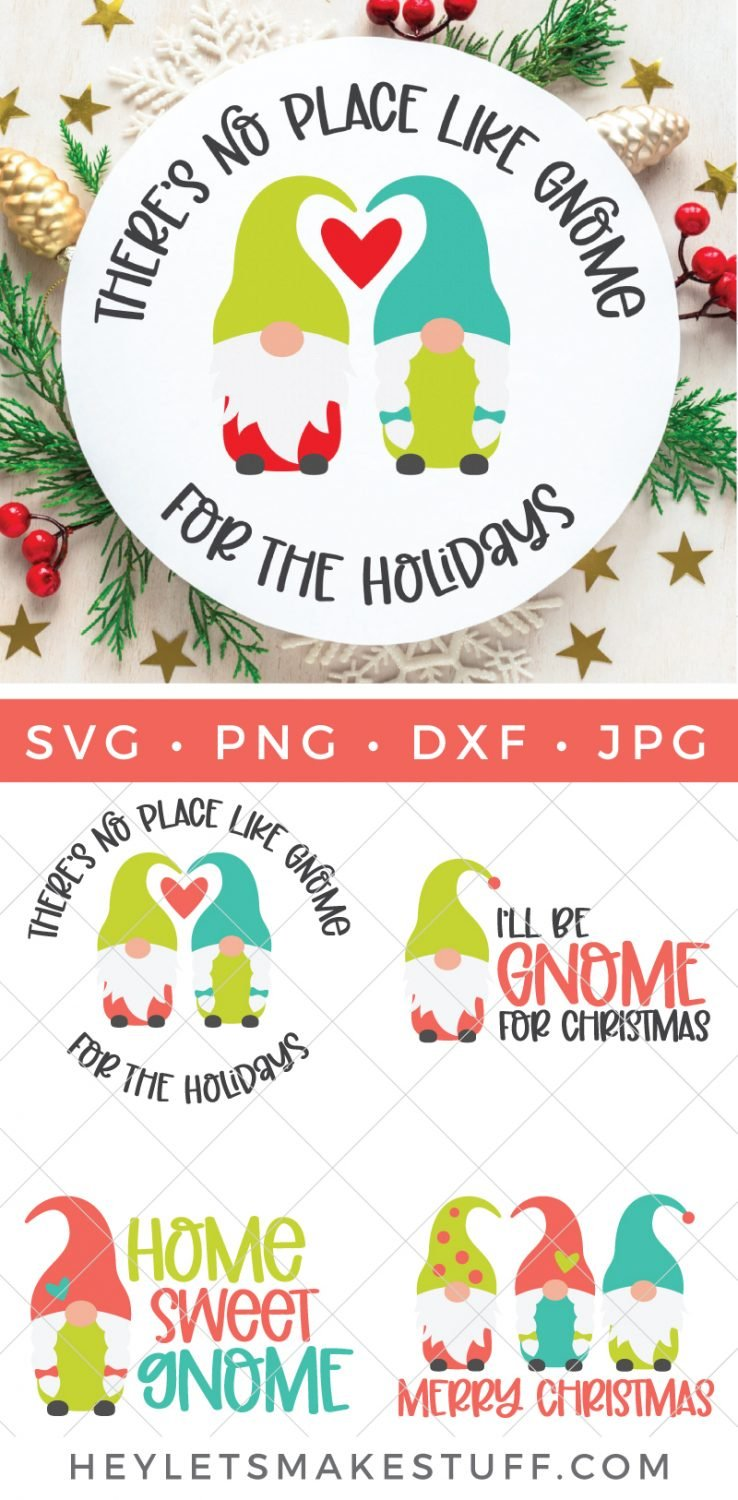 Gnome for the holidays SVG bundle