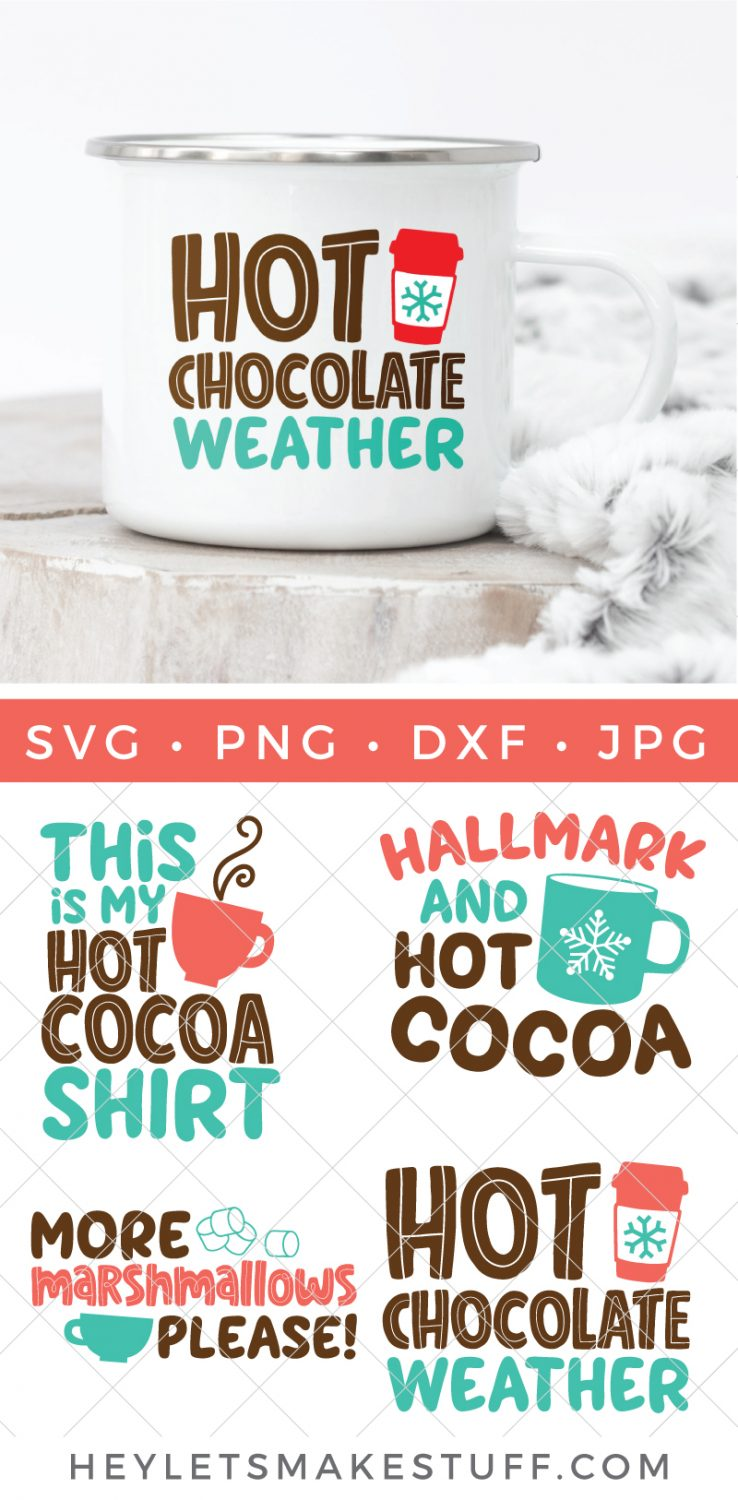 Hot Cocoa SVG Bundle pin image