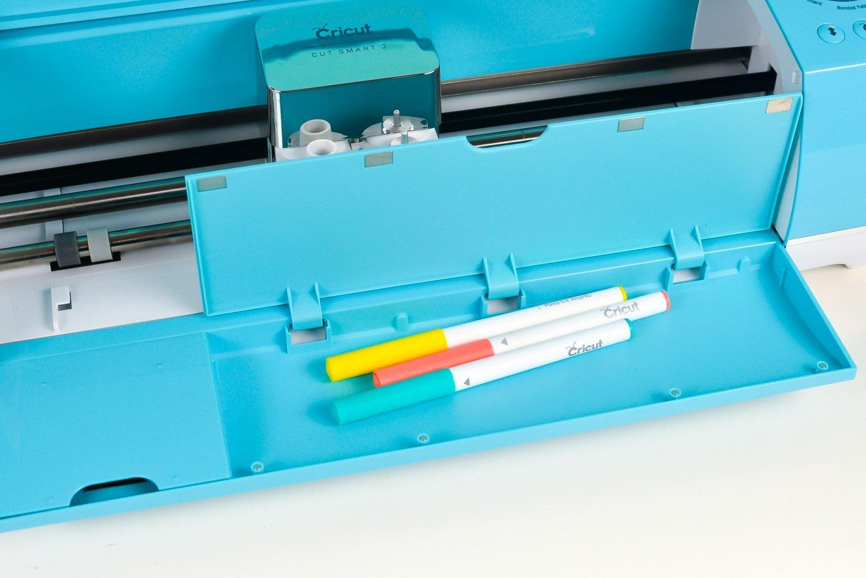 Cricut Explore Tool Storage in Door