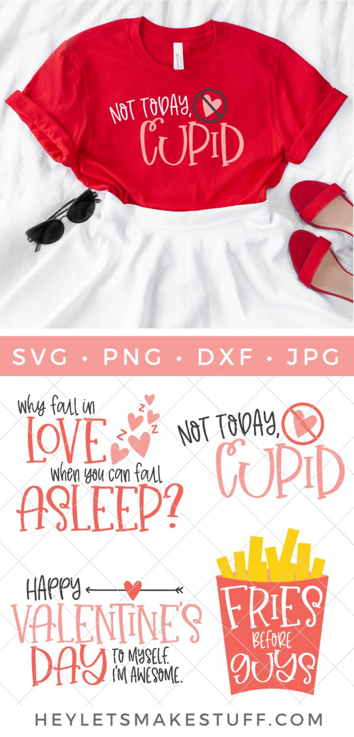 Snarky Valentine's Day SVG Bundle Pin image
