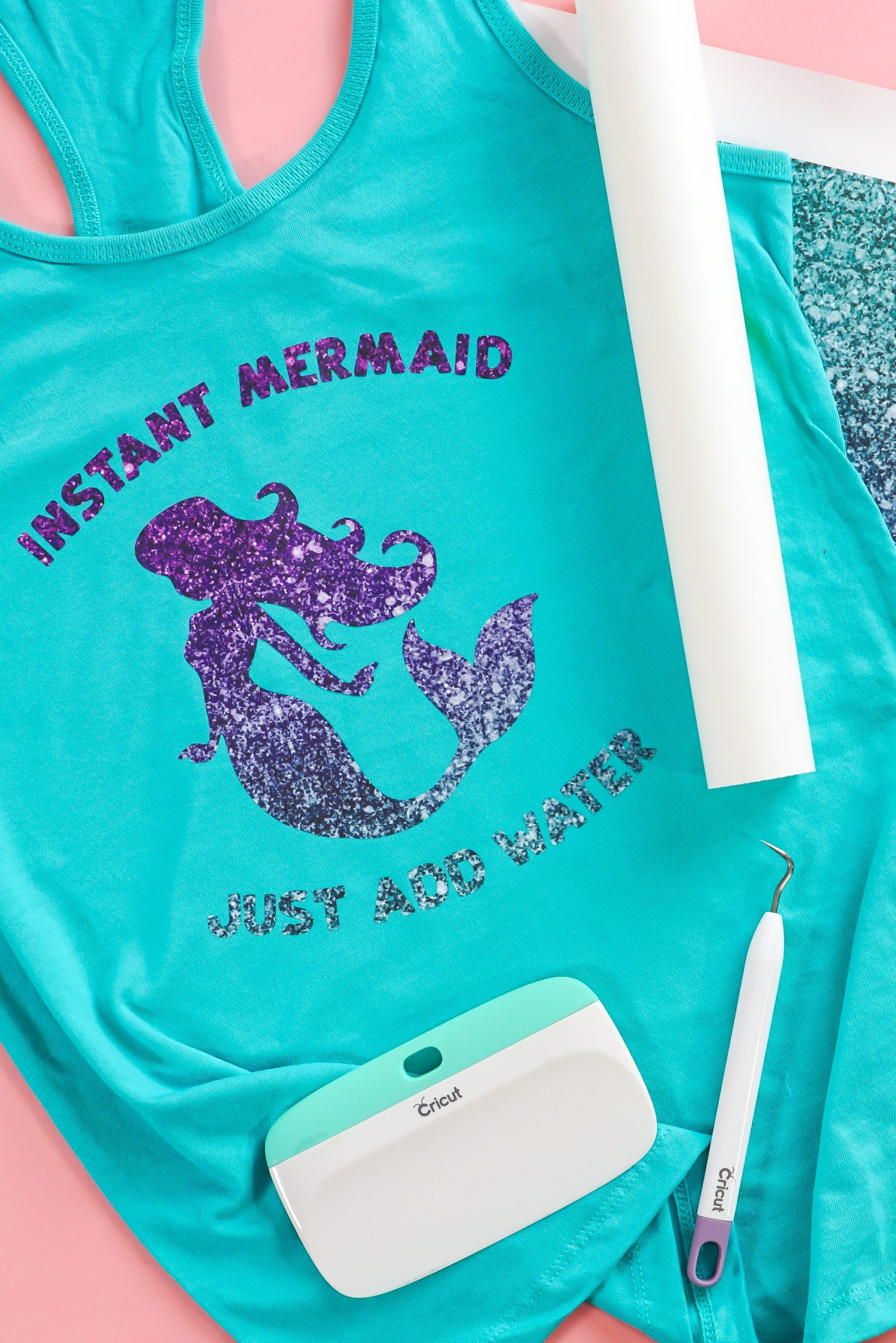 Final Instant Mermaid tank top