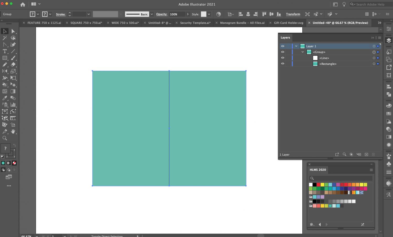 Adobe Illustrator: Open the Layers Panel