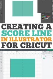 Creating a Score Line in Illustrator for Cricut Pin Image
