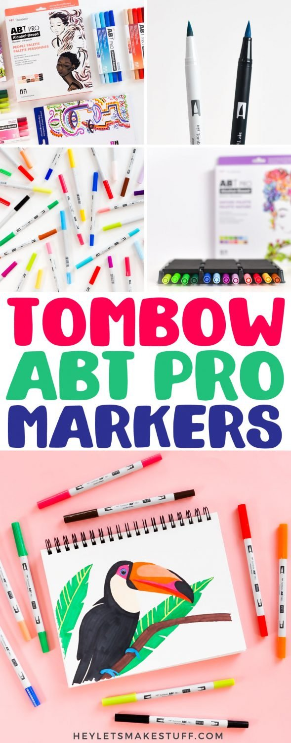 Tombow ABT PRO Markers - pin image