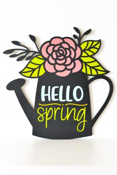 Final Hello Spring Sign