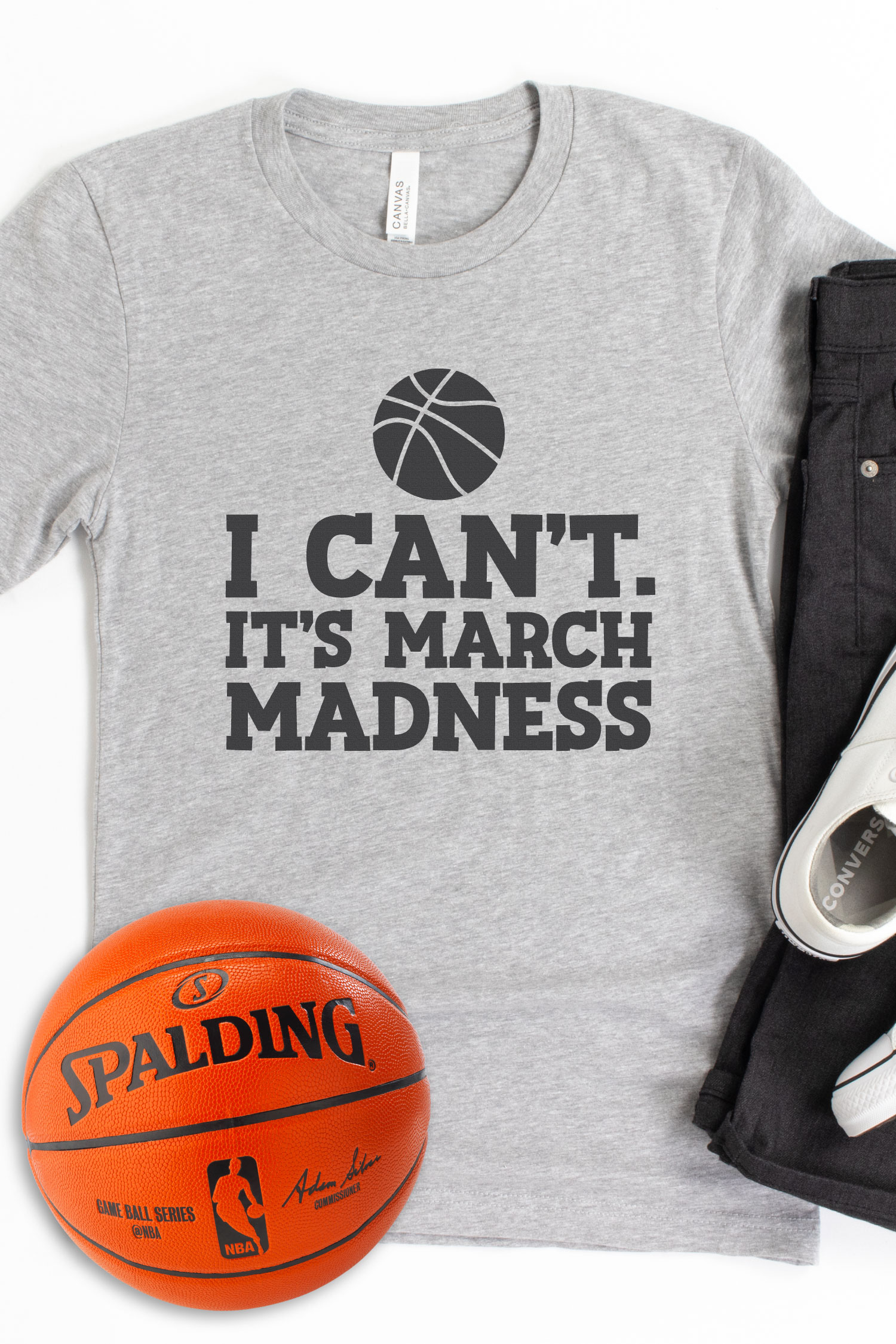 March Madness begins in a few weeks and if you're a college basketball fan, then these cut files are for you! Use these March Madness SVGs to show off your basketball spirit with sweatshirts and more — from the comfort of your own home!