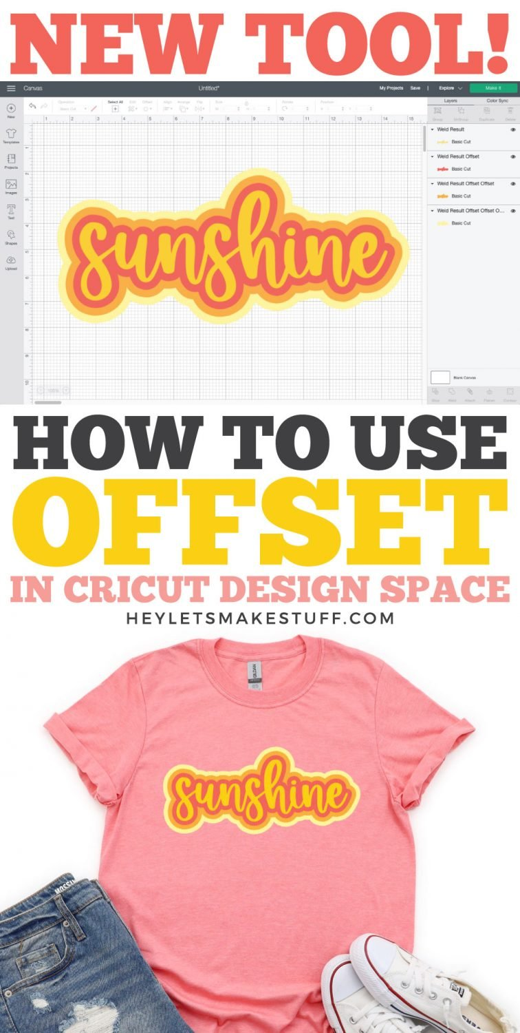 How to Use Cricut Offset Pin Image