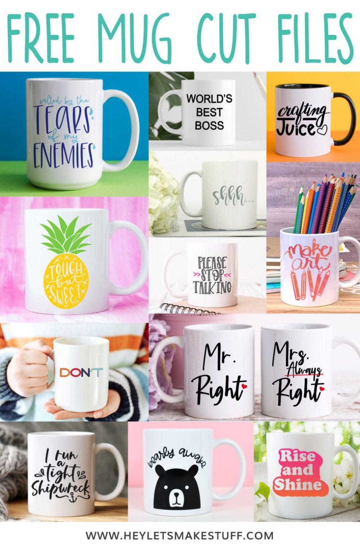 Free Mug Cut Files - Pin Image